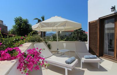 Photo for Town Centre One Bedroom Apartment With Private Sun Terrace & 185m2 Shared Pool.