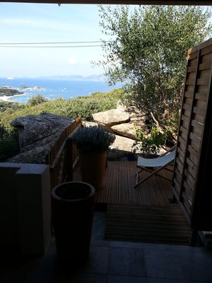 Photo for House isolella sea view 5 minutes from the beach stagnolla walk.