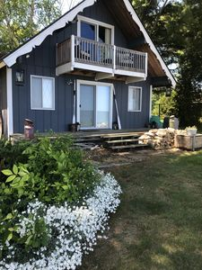 Photo for Private Lakefront Cottage 110 ft Private Beach on Lake Huron
