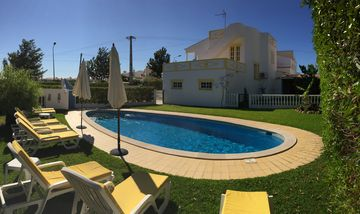 Villa with garden and pool