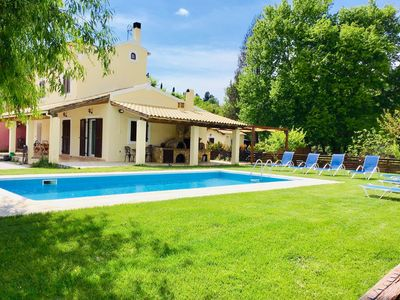Photo for Beautiful Spacious Villa With Private Pool Near to great beaches and Corfu Town