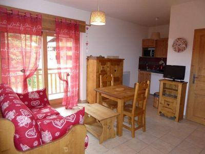 Photo for Apartment Pralognan-la-Vanoise, studio flat, 2 persons