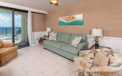 Photo for Two Bedroom Condo with Beach Front Balcony at Phoenix I