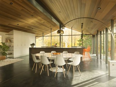 Stowe Glass House: Modern Luxury- stunning Mt. Mansfield views with ...