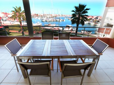 Photo for Apartment With Shared Pool And A Huge Balcony With Wonderful Panoramic View