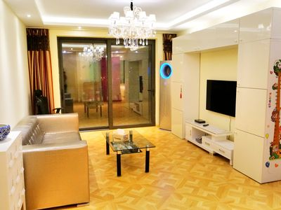 Photo for Cozy 3Br,136 Sqm, Right On Top Of Subway Station,4 Stops To Jingan Temple