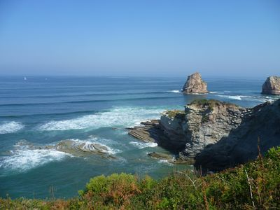 Photo for Rent Apartments with heated pool Souraïde Pays basque