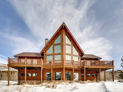 Photo for Mountain Memories Lodge w Hot Tub and Views close to Breckenridge