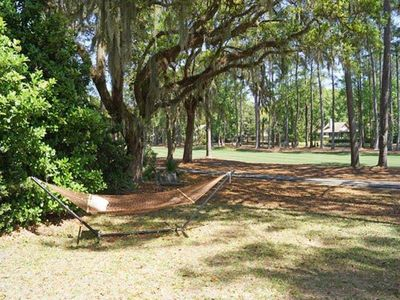 Photo for This beautiful home, located in the heart of the Historic Sea Pines Plantation