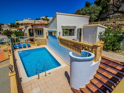 Photo for Tosal Julia - sea view villa with private pool in Calpe