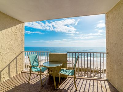 Photo for Tropical Winds 503 - Relaxing Beachfront Condo