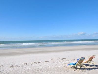 Photo for Gulf of Mexico townhome on beautiful white sand beach Longboat Key, Florida
