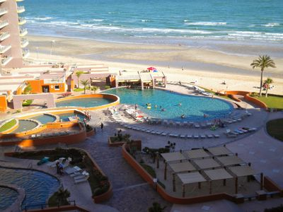 Photo for Large condo, great view, 3 bedrooms with King Size beds Las Palomas