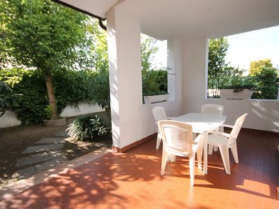 Photo for Inviting three-room house with 6 beds, swimming pool and garden