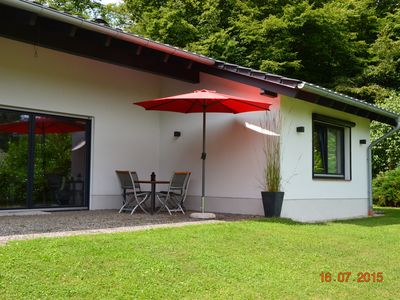 Photo for Sailhouse Edersee holiday home - seenah, infrared cabin