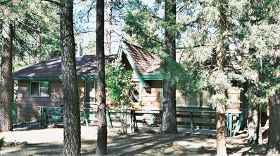 Photo for Perfect Location!!! Snow Summit Cabin w/Large Spa, Deck & Wifi