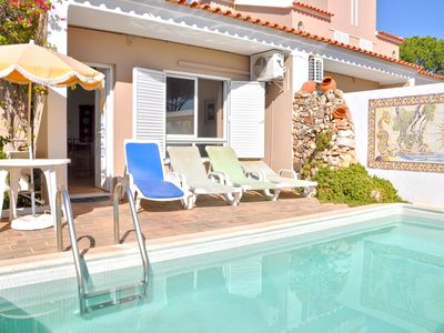 Photo for A modern, comfortable and well equipped linked villa with private pool and A/C
