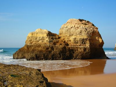 Photo for Praia da Rocha - BEACH IN THE 1st LINE