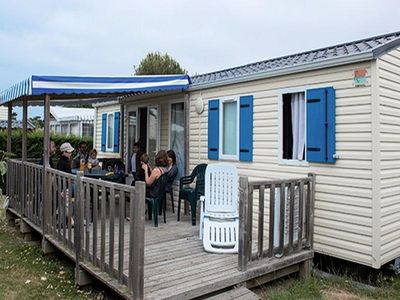 Photo for Camping L'Océan ***** - Mobil Home Prestige 4 Rooms 6/8 People