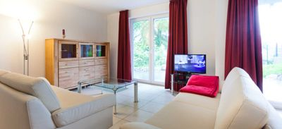 Photo for Apartment chicken god | 75 sqm, max. 4 pers. - House on the south beach | Comfortable apartments near the beach