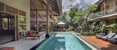 Photo for A peaceful getaway 4 bedrooms villa by the beach, Seminyak