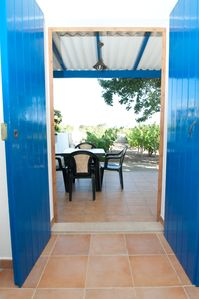 Photo for Quiet house located in the highest point of Formentera