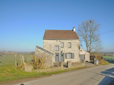 Photo for Pleasant fermette with outdoor swimming pool, near Durbuy