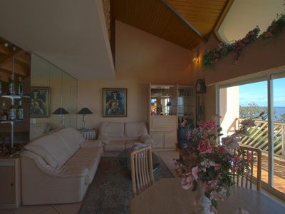 Photo for Large T5 waterfront with pool, pool and tennis