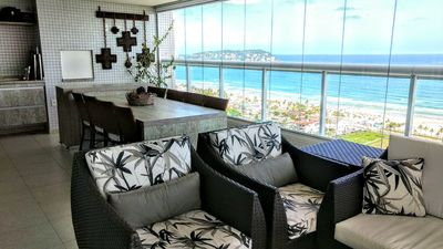Photo for Club Condo, sea view, gourmet balcony, leisure and comfort.