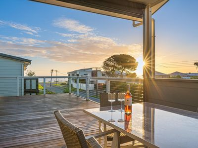 Photo for Oceans Eight - Sea Views, Style and Serenity - Modern Beach Home