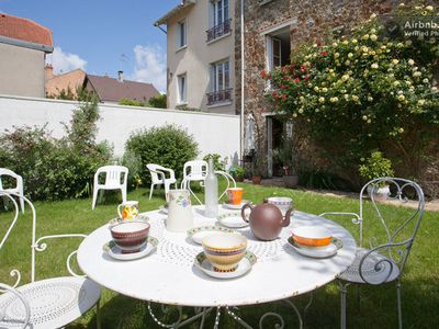 Photo for Big house for 6 people with garden near Paris