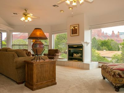 Photo for Sedona Retreat House Incredible Red Rock Views