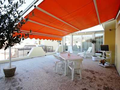 Photo for Exclusive VENERE Penthouse with very spacious equipped sun terrace