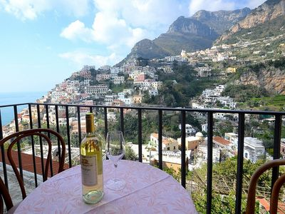 Photo for Villa Sebastiana A: A graceful apartment located in a picturesque neighborhood of Positano, with Free WI-FI.