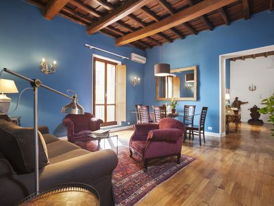 Photo for Picasso luxury and modernity in 120 square meters with high quality furniture and antiques