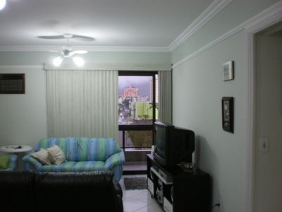Photo for UNMISSABLE ! Beautiful apartment on the beach of the Bay Guaruja