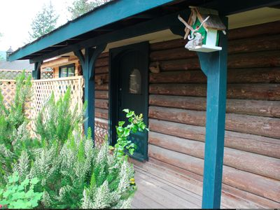 Photo for 100 Year-Old Log Cabin Lovingly Restored - With New Bathroom And Kitchenette