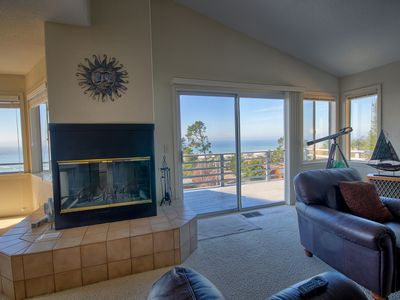 Photo for Heavenly Ocean View - #LH37: 2  BR, 2  BA House in Cambria, Sleeps 4