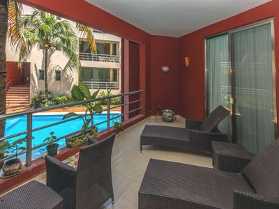 Photo for Coco Beach 2 Bedroom Condo with Pool - Allegria