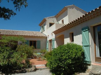 Photo for French Riviera beautiful villa with pool in the Gulf of St Tropez