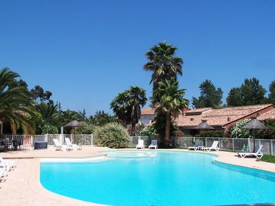 Photo for Villa with swimming pool 800 meters from the beach of Saint Cyprien. - Villa 4 rooms 8 people