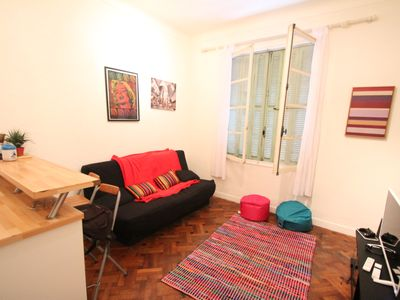 Photo for Cozy 1br flat in Gold Triangle, central Nice