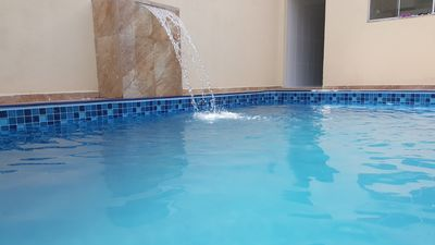 Photo for Great property at 2 min. Thermas - 3 beds - POOL 5 x 3 - Wifi - Full