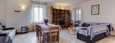 Photo for Bright and spacious, 6 + 3 beds, three bedrooms two bathrooms, free WiFi, near Rome EUR