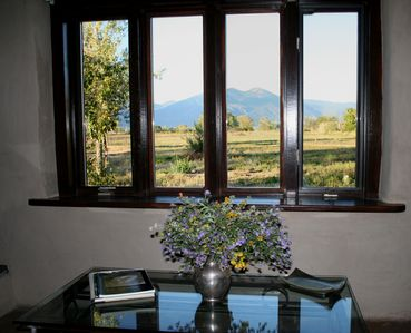 Photo for Cozy Taos Casita with exceptional views of Taos Mountain