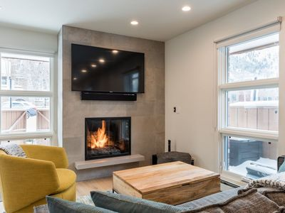 Photo for Updated Townhome in Downtown Aspen w/ Fireplaces, Patio - Walk to Ski Resort!
