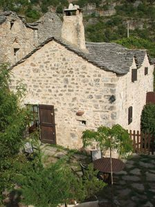 Photo for Characterful Cottage, exceptional view on Dourbie Valley, near Millau Viaduct