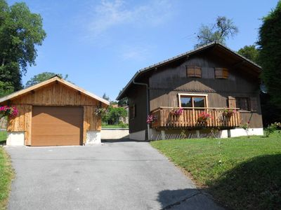 Photo for Comfortable chalet in the mountains, close to Geneva and the Lake Geneva