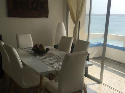 Photo for Ocean front apartment with 3 bedroom and balcony