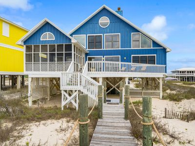 Photo for Dixie Dunes - Beautiful 3br Gulf Front Home, Sleeps 8